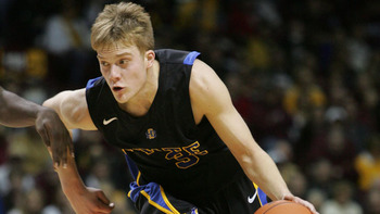SDSU's Nate Wolters has etched his name in NCAA record books this season.  Photo courtesy:espngo.com