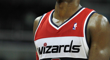 WASHINGTON, DC - FEBRUARY 22: John Wall #2 of the Washington Wizards looks on during the closing moments of Wizards 115-107 loss to the Sacramento Kings at Verizon Center on February 22, 2012 in Washington, DC. NOTE TO USER: User expressly acknowledges an