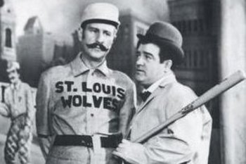 Perhaps Abbott and Costello could put together the Orioles' line-up.