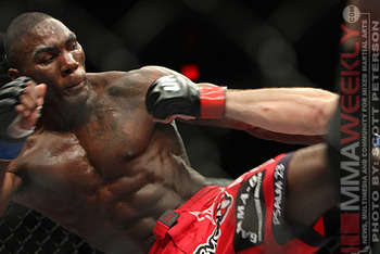 Anthony Johnson - Scott Peterson/MMAWeekly