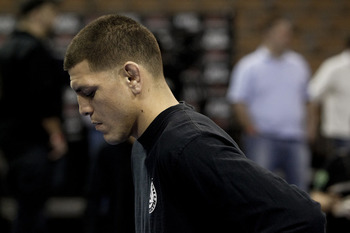 Nick Diaz - Esther Lin/AOL