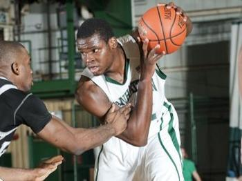 When Rhamel Brown is in the game, nothing around the rim is too easy. (Photo from gojaspers.com)