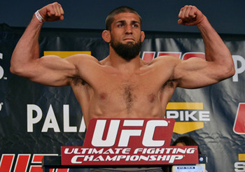 Court Mcgee will lose Friday no matter how much he flexes