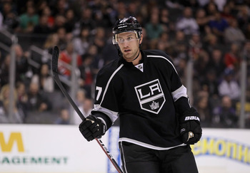 Jeff Carter making his Los Angeles debut.