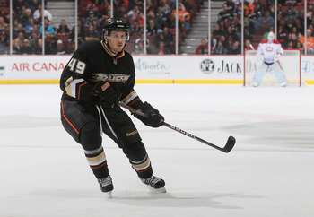 Maxime Macenauer with Anaheim.