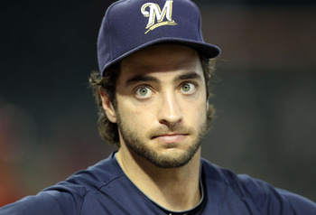 Ryan Braun at 80% beast mode.