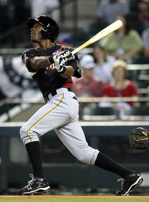 If someone gets injured, Marte could step in.