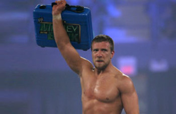 Daniel Bryan wins the Smackdown MITB match at last year's Money in the Bank pay-per-view