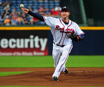 Lowe, now with Cleveland, had a tough final year with the Atlanta Braves