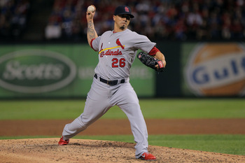 Lohse enjoyed a career year with St. Louis last year