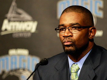 Orlando Magic GM Otis Smith