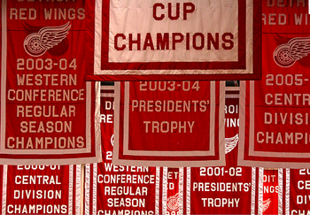 There is always room for more banners at the Joe.