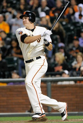 Brett Pill gives the Giants some power off the bench