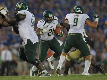The Bulls upset Notre Dame to open the 2011 season.