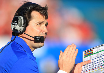 Will Muschamp's first season was below the Gators standard.