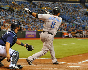 Molina has never been a force a the plate, but can he at least hold his own for the Rays?