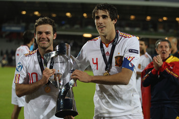Javi Martinez (right)