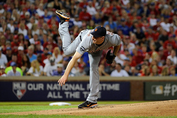The Tigers Max Scherzer will look to tighten up his consistency in 2012. Photo courtesy of Zimbio