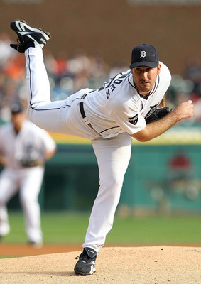 Tigers ace Justin Verlander. Photo courtesy of Zimbio