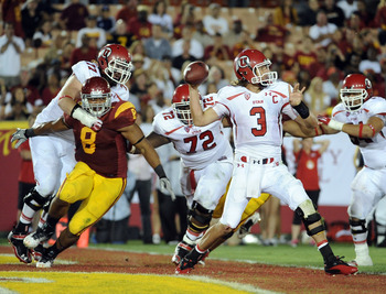 USC defensive end Nick Perry became one of this year's clear winners at the 2012 NFL Scouting Combine.