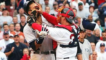 Varitek's defiance started the Red Sox on the path to their first championship since 1918