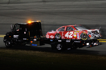 Montoya's ugly crash was the lowlight of a tough week for EGR.