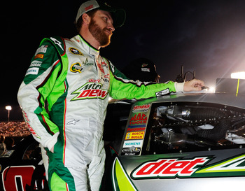 A second-place finish was not a bad start to '12 for Jr.