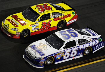 Dave Blaney captured the attention of millions at Daytona.
