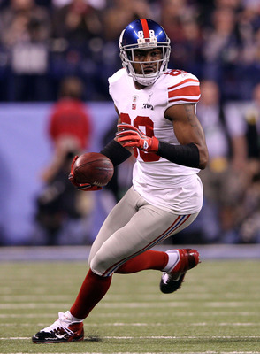 Hakeem Nicks: first rounder out of North Carolina.
