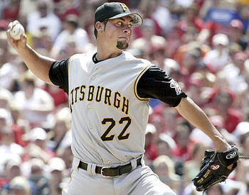 Vogelsong with Pittsburgh, before his tenure in Japan