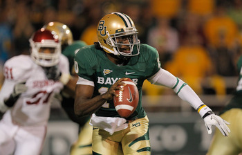 Robert Griffin III won the Heisman Trophy in 2011.