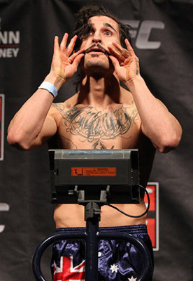 Ian McCall (Josh Hedges/Zuffa/Getty Images via ESPN.com)