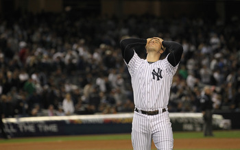 The Yankees were in disbelief as the Tigers ended their season at Yankee Stadium last season.