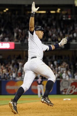 A-rod sent everyone home with a 15th inning walk-off home run against the Red Sox in August 2009.
