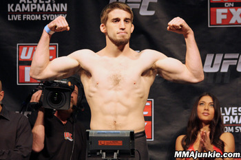 T.J. Waldburger (Photo credit: MMAjunkie.com)