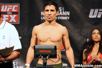 Joseph Benavidez. (Photo credit: MMAjunkie.com)