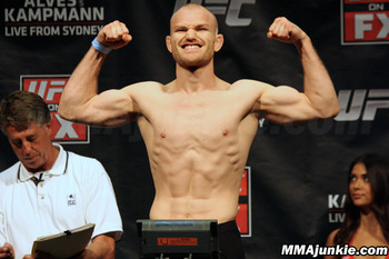 Martin Kampmann. (Photo credit: MMAjunkie.com)