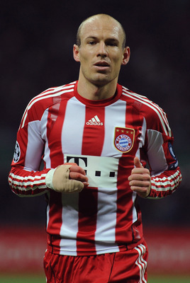 Robben's time in Munich maybe up