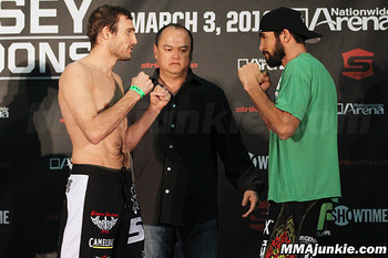 Ryan Couture vs. Conor Heun - MMAjunkie.com