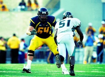 Don Barclay, OT, West Virginia