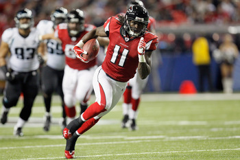 Julio Jones was a gamble, but long term he will pay off as one of the most explosive WR's in Falcons history