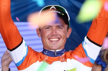 Simon Gerrans won the 2012 Tour Down Under
