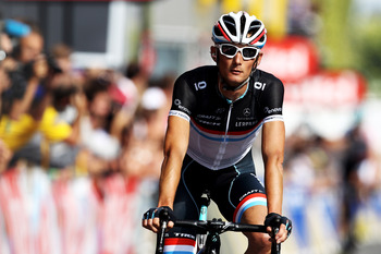 If a climber wins the 2012 Paris-Nice, Frank Schleck is likely to be that climber