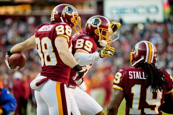 Washington Redskins' Modern Uniforms