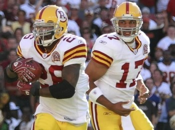 Washington Redskins' Throwback Uniform