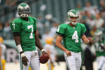 Philadelphia Eagles' Throwback Uniforms