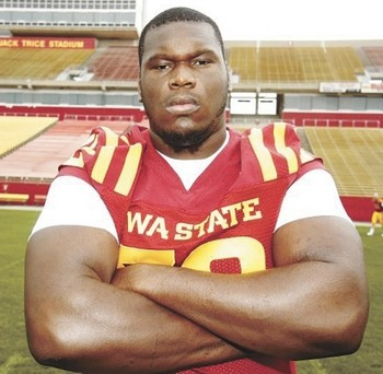 Osemele is all business from the interior offensive line. nepatriotsdraft.com