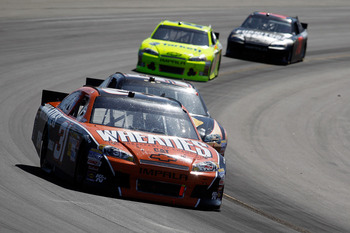 Burton fell just 21 laps short of a strong run at Phoenix