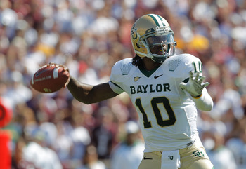 Robert Griffin III: The best quarterback prospect behind Andrew Luck.