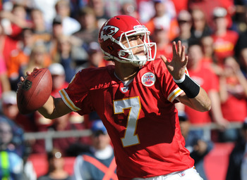 Matt Cassel missed time due to injury in 2011.